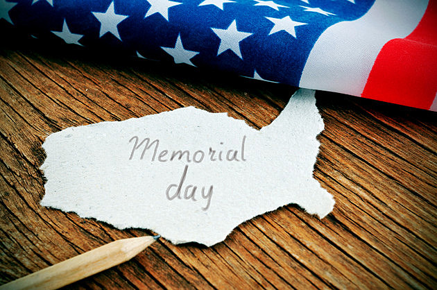United States and the text Memorial Day