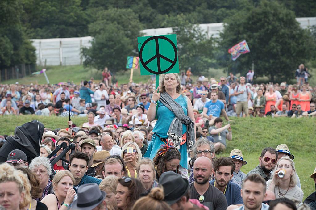 Festival Goers Enjoy Glastonbury 2017 - Day Two