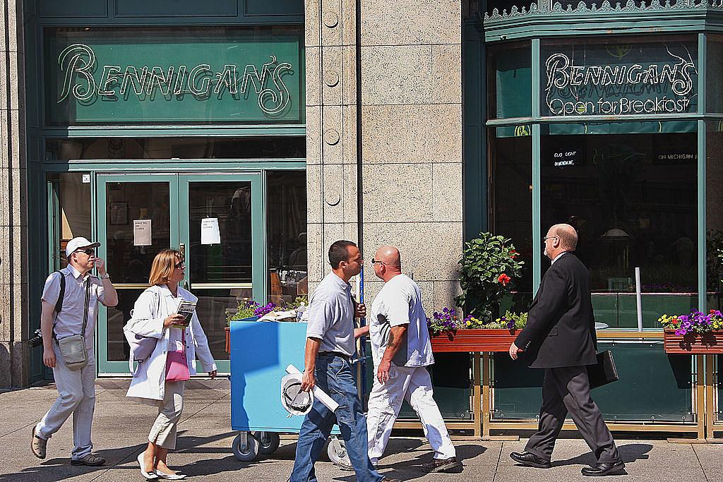 Bennigan's Closing Down Nationally